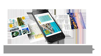 Digitale Gids van Andalusië voor mobiele apparaten